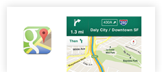 Google Maps for iOS v1