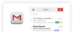Gmail App for iOS v2