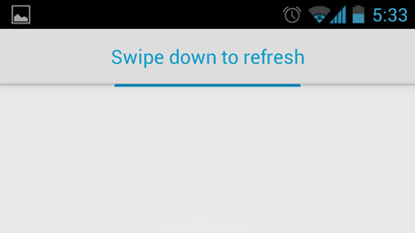 UIRefreshControl_SwipeDownToRefresh_Android