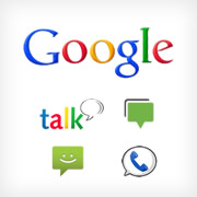 What's the deal with Talk / Chat / Voice / Messenger / Messages / SMS