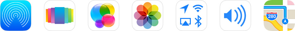 ios7 Default Development Apps
