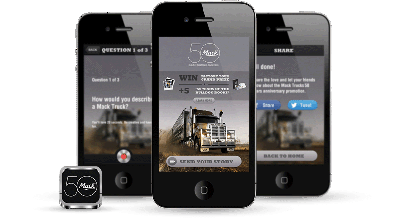 Mack Trucks Real Stories iPhone Application