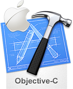 Objective C, Apple, and Xcode Logo